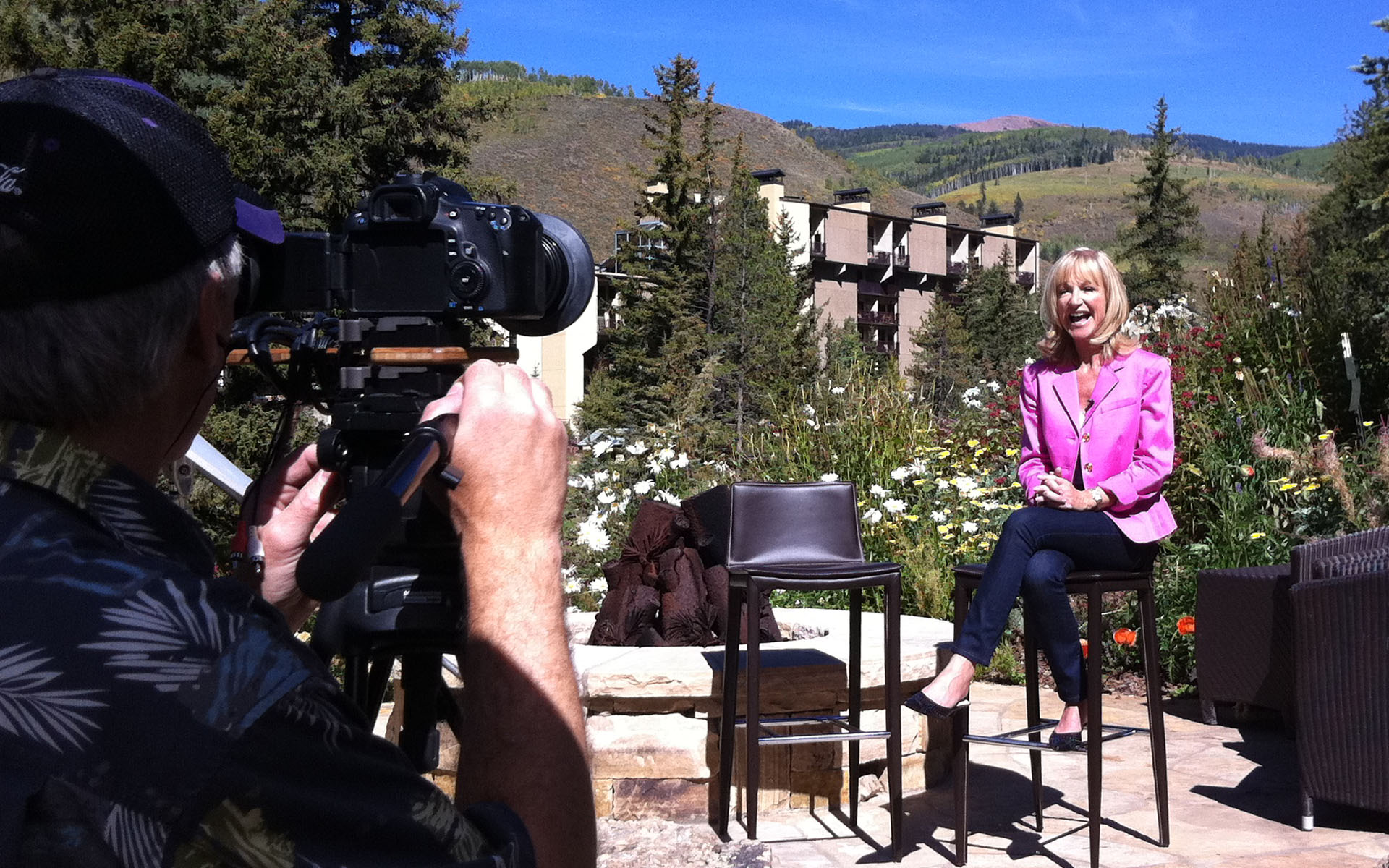 Corporate sales video for Executive Retreats in Vail, CO