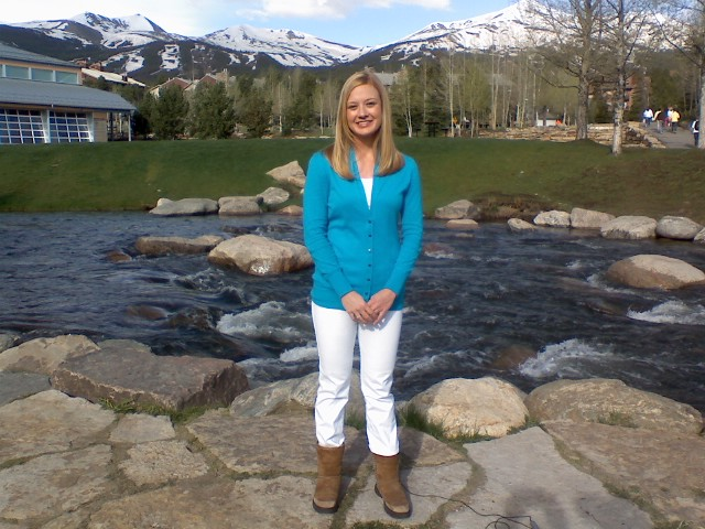 Live Satellite uplink media tour for the Breckenridge Resort Chamber with Carly Grimes